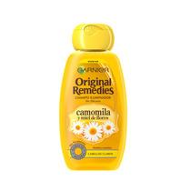 Shampoo Garnier Original Clareador Camomila Com Mel - Louro