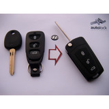 Carcasa Control Remoto Con Flip Para Hyundai Tucson Santa Fe