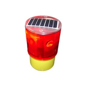 Balizas De Led Para Torre O Antena Solar Roja Destellante