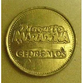 Ficha Dieguito Maradona(golosinas Georgalos)