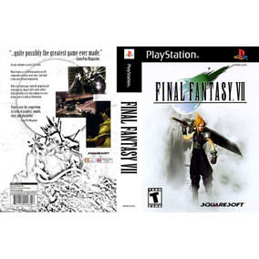 Mp3 Final Fantasy 7 (psp Ps1 Cd Play)