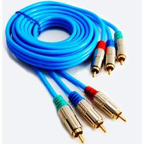 Cables Rgb Componentes Blindados 185cm