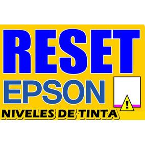 Reset De Tintas Impresoras Epson L555 L800 L200 Ilimitado