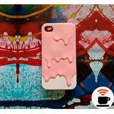Capinha Para Apple Iphone 4s Sorvete Derretido Tpu