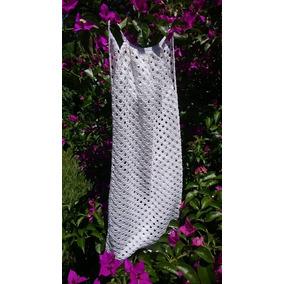 Klaer Vestido De Fiesta Crochet Único!!!