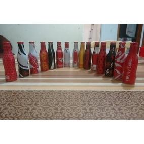 Garrafinhas Coca-cola - Coleção Completa 15 + 04 Engradados