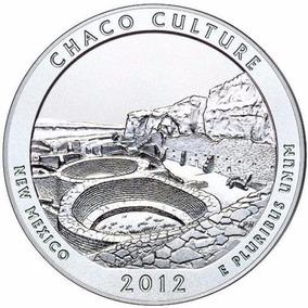 Eua - 25 Cents 2012 Chaco Culture - New Mexico Letra D -fc