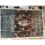 Afiche Original De La Películapelicula Gandhi