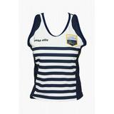 Camiseta Hockey Club San Carlos Webb Ellis Blanca Azul