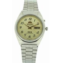 Relógio Orient Automático Masculino Mostrador Amarelo . R P