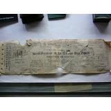 Antiguo Documento Ciudad Eva Peron