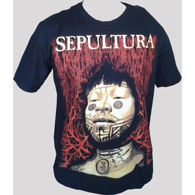 Camiseta Sepultura - Roots.