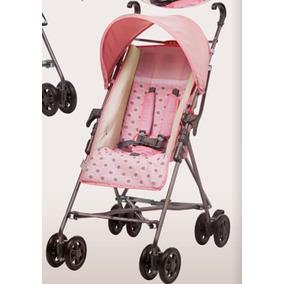 Carrinho De Bebê Modelo Guarda Chuva - Rosa Doce Flora