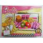 Barbie Quiero Ser Set De Comiditas Picnic Sandwiches Abrojo
