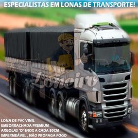 Lona Caminhão Tipo Lonil Vinilona Argola Emborrachada 6x6 Mt