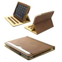 Nueva S-tech Para Apple Ipad 2 3 4 Generación Suave Marrón C