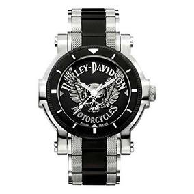 Reloj Bulova Hombres De Harley-davidson. 78a109