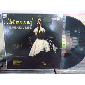 Lp - Brenda Lee / Let Me Sing / Decca / Importado Usa