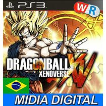 Dragon Ball Xenoverse Xv Ps3 Psn Play3 Legenda Pt Br