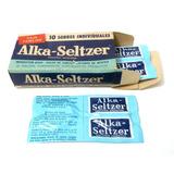 Alka Seltzer Antiguo Envase De Carton Año 1965 (b)