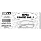 5 Pacote Promissória Mini 65x145 50folha Cada Pt/20 97846