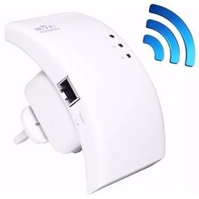Receptor Repetidor Roteador De Sinal Wifi 300mbps Botão Wps