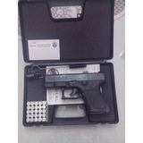 Combo 2 Pistolas Fogueo Glock Mini Salvas Tactica Vigilancia