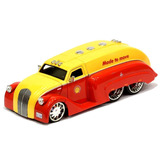 1:24 Jada Caminhão Tanque Shell Dodge Airflow 39 -ford Chevy