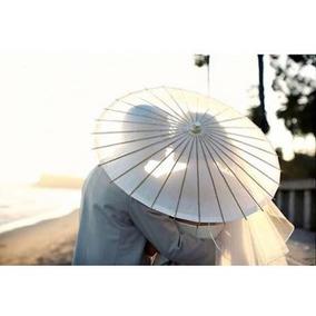 Paraguas Sombrilla China Souvenir Boda Casamiento 86cm
