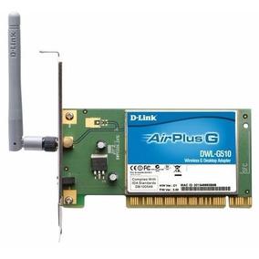 Placa De Rede Wireless Wi Fi D-link Dwl-g510
