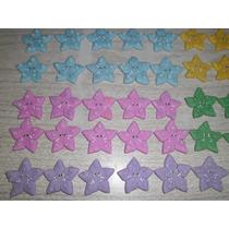 20 Estrellas Porcelana Fria Souvenir Quince Aniversario Baut