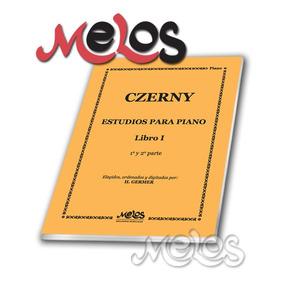 Czerny - Germer - Estudios Para Piano Libro 1- Oferta M