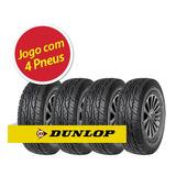 Kit Pneu Aro 15 Dunlop 205/70r15 At3 96t 4 Unidades