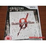 Resident Evil Archives Zero ( Nuevo Sellado) - Pal Europeo
