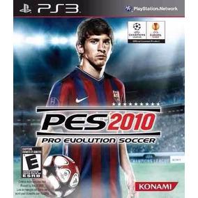 Pro Evolution Soccer Pes 2010 Jogo Ps3 Novo Promoção!!