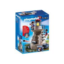 Educando Playmobil Piratas Torre De Los Soldados Cañon 6680