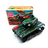 Tanque De Guerra 1960/1970 Japones A Pila Nuevo Lloretoys