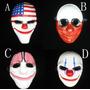 Conjunto Quatro Máscaras Payday Pay Day 2 - No Brasil