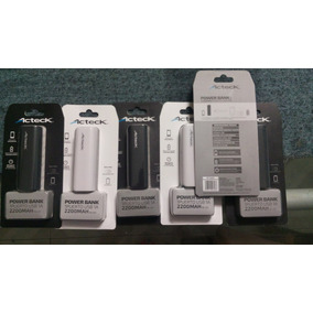 Bateria De Respaldo (power Bank) Acteck 2200 Mah