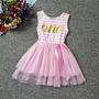 Vestidos 1 Año Bebes Importados Tutú Cumpleaños