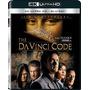 Blu-ray 4k -- The Da Vinci Code