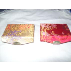 Aurojul-estuche Caja Brocato-c/espejo-forrada-imp. China