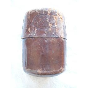 Antigua Cigarrera De Cuero