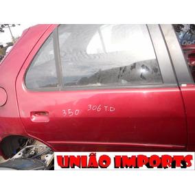 Porta Traseira Direita Peugeot 306 1998 (somente Lata)