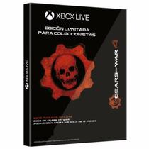 Gears Of War 4 Xbox Live 12 Meses Cog Tags Edicion Coleccion