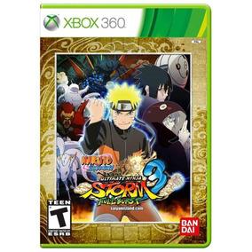 Jogo X360 Naruto Ultimate 3 Full Burst Midia Fisica