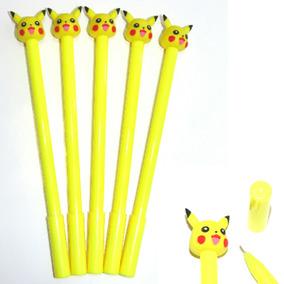Pluma Boligrafo Pikachu Kawaii (estilografo) De Gel 1 Pieza