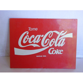 Cartel De Coca Cola - Coke 19,6 X 15 Cm En Pvc!!!