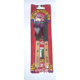 Cubiertos Publicitarios De Coca Cola