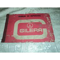 Antiguo Manual De Repuestos Gilera 150 Gt Sprint Sp